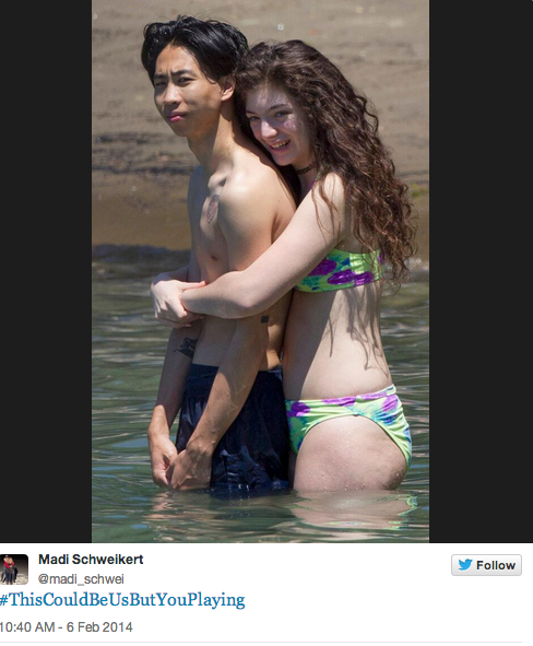 Lorde and BF