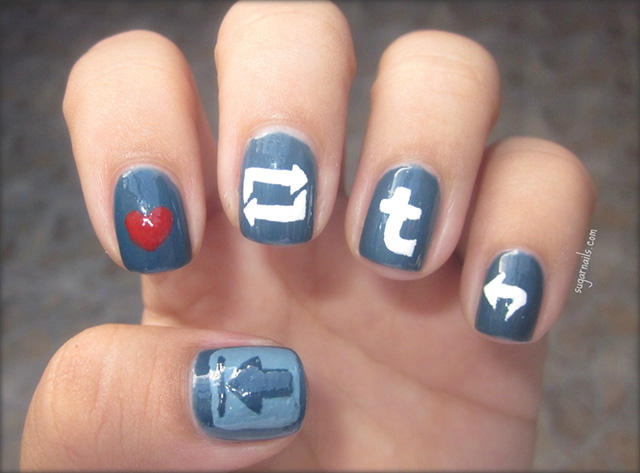 Tumblr fingernails