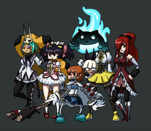 skullgirls wallpaper iphone