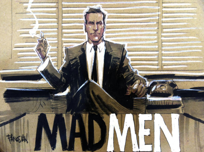 Men Men Title Card