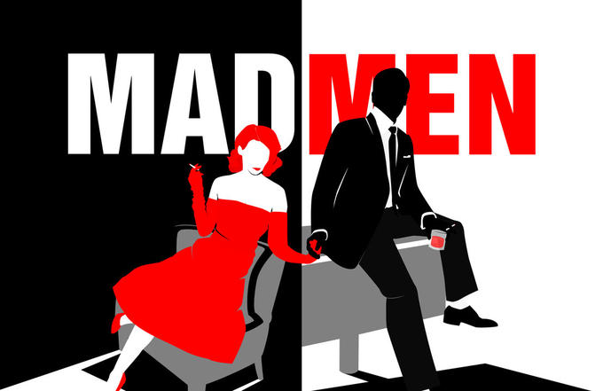 Mad Men Don and Joan