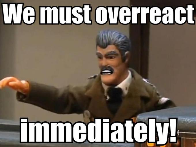 We Must Overract