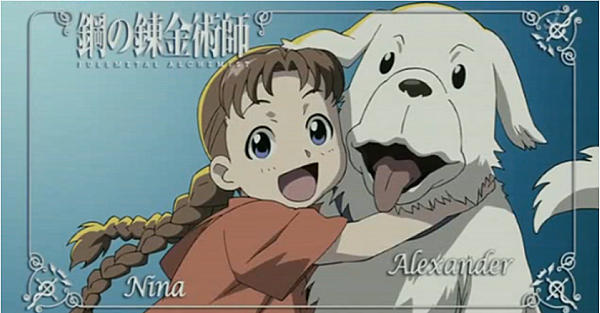 Show a picture of these two to an FMA fan, expect them to cry a river.