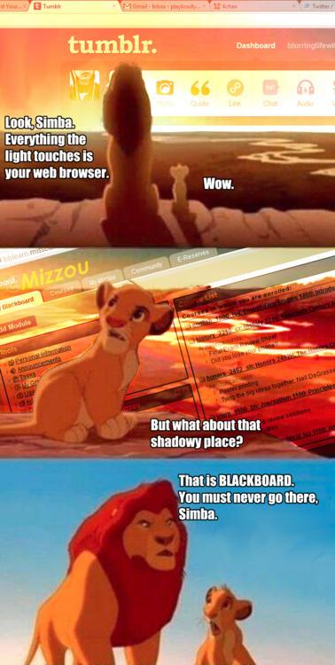 Never Go to Blackboard