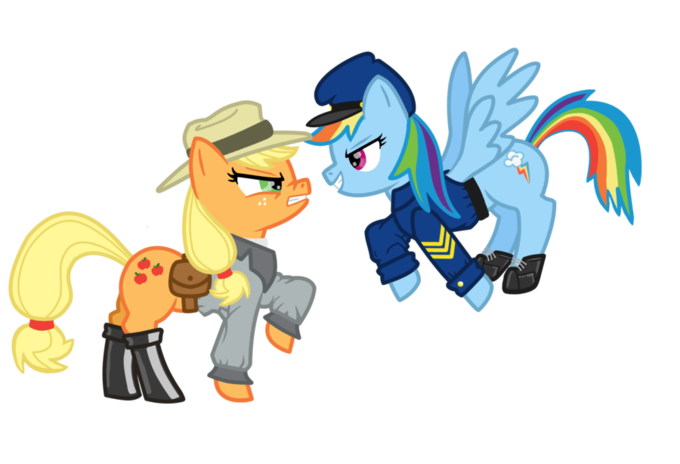 Civil War My Little Pony