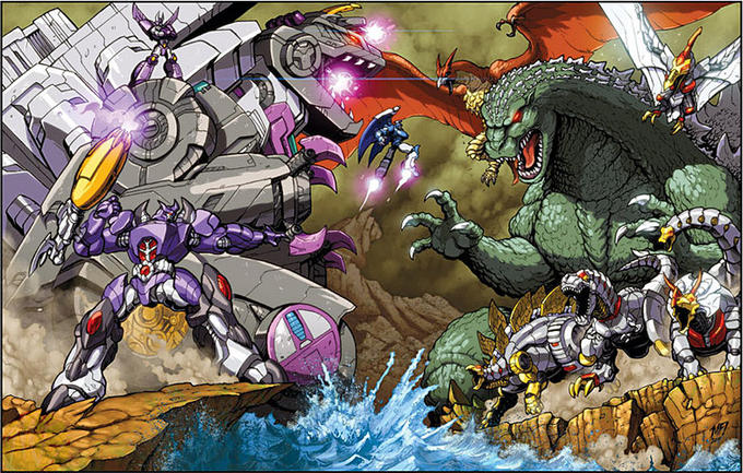 Attack on monster island