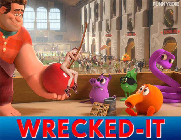 Wreck-It Ralph Ball