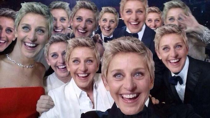 Selfie Full of Ellens
