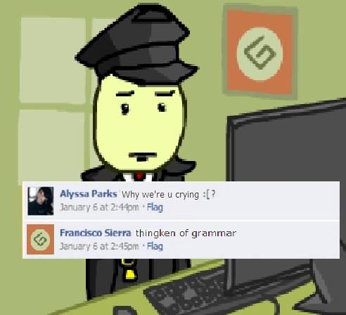 thingken of grammar