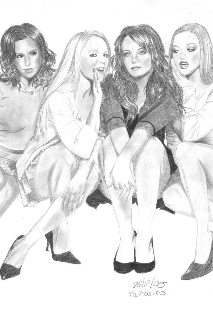 Mean Girls Sketch
