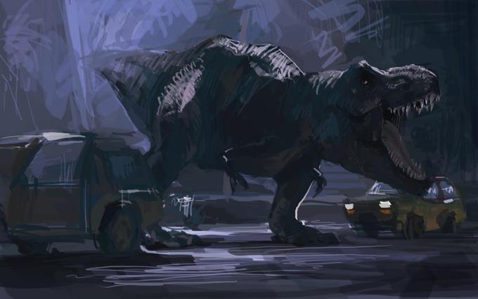 T-Rex Roars
