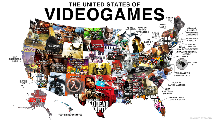 The United States of Video Games