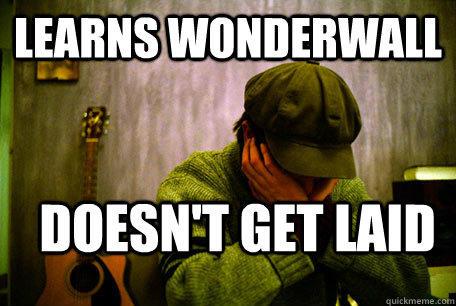 Learns Wonderwall