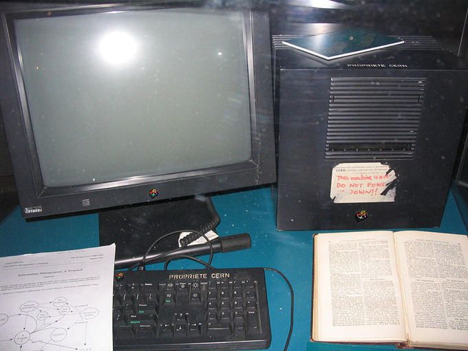 Tim Berners-Lee's Computer, The First Web Server in the History of the World Wide Web