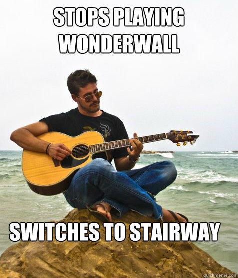 Douchebag Guitarist