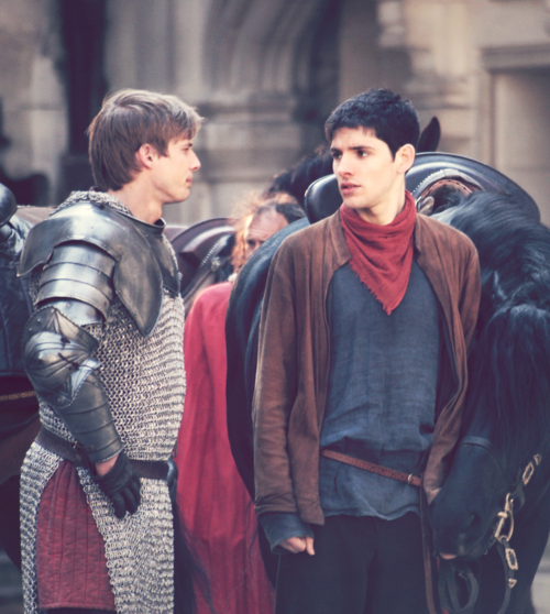 Merlin and Arthur and Horses