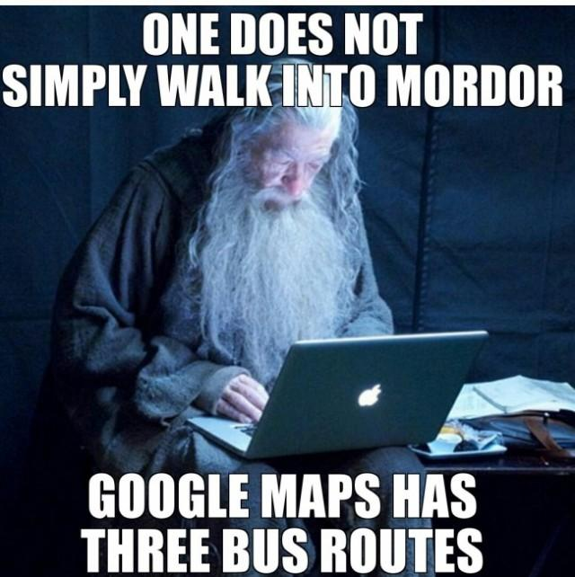 Bus Route to Mordor