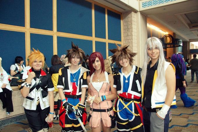 Kingdom Hearts cosplay group