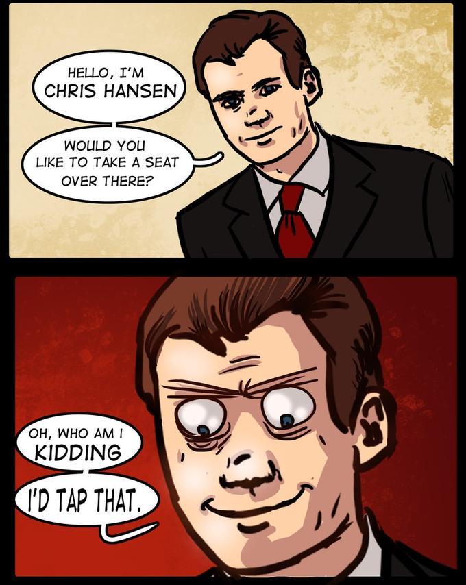 Chris Hansen loses his way