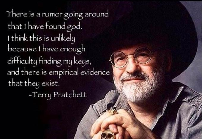 Terry Pratchett on God