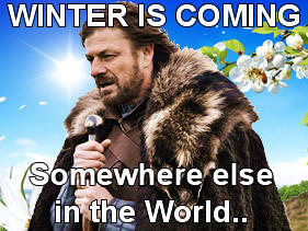 Winter is Coming, somewhere