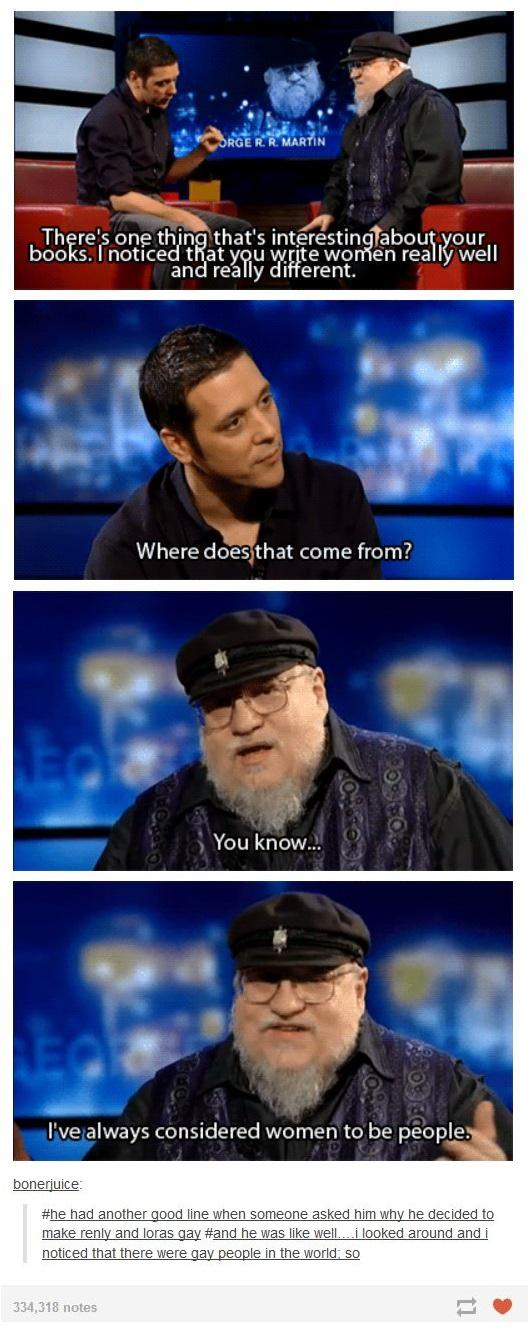 Interview with GRRM