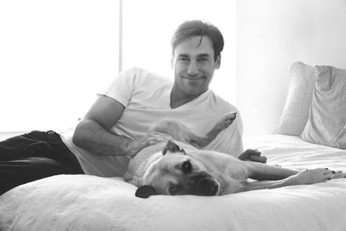 Jon with Dog