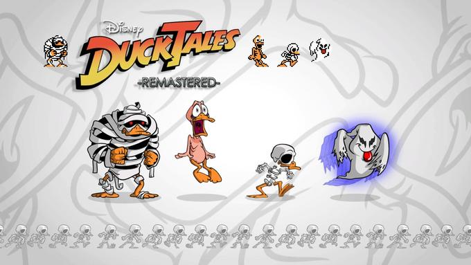 Duck Tales Remastered - Original Sprites compared to the new ones