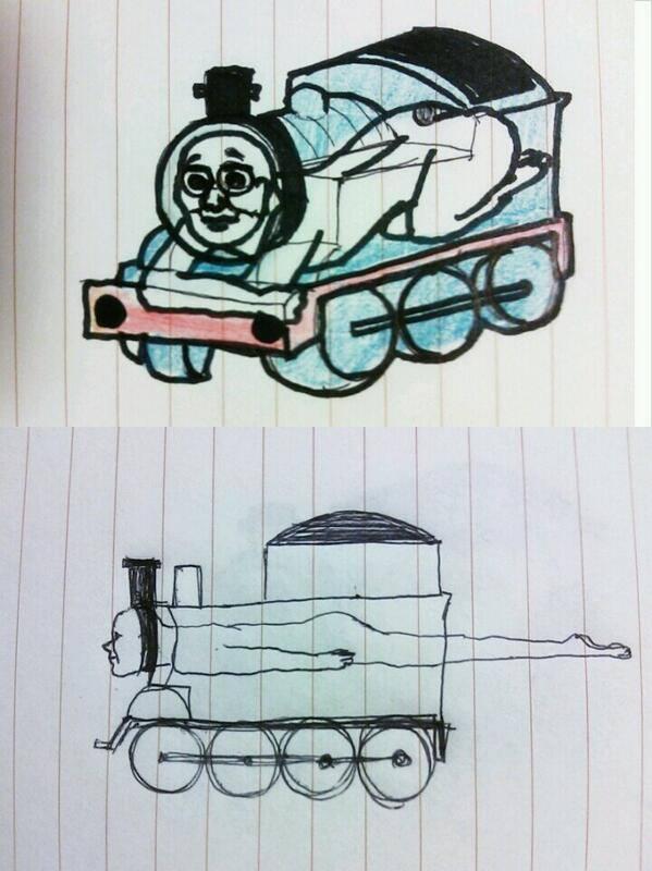 Diesel Train Rail