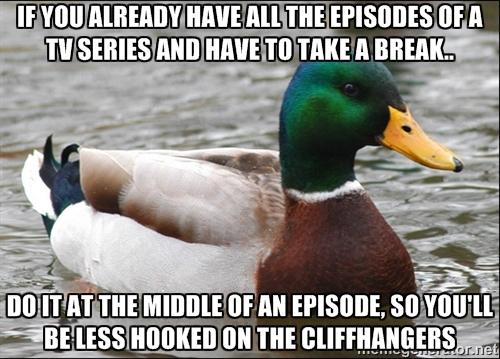 Advice on Tv Series