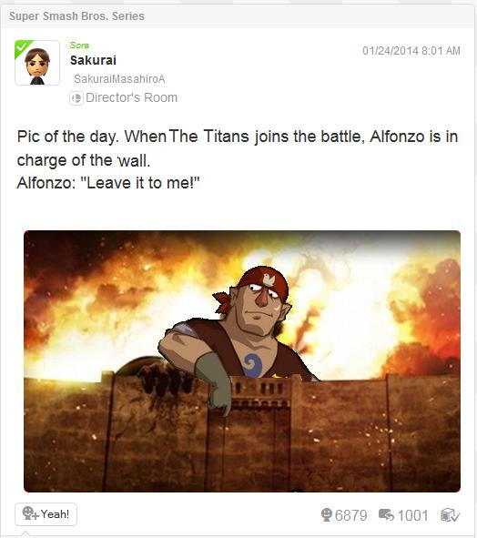 Attack on Alfonzo
