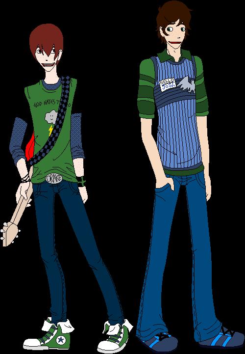 Skinny Drake and Josh