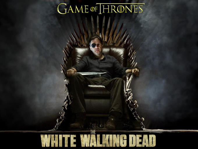 Game of The White Walking Dead