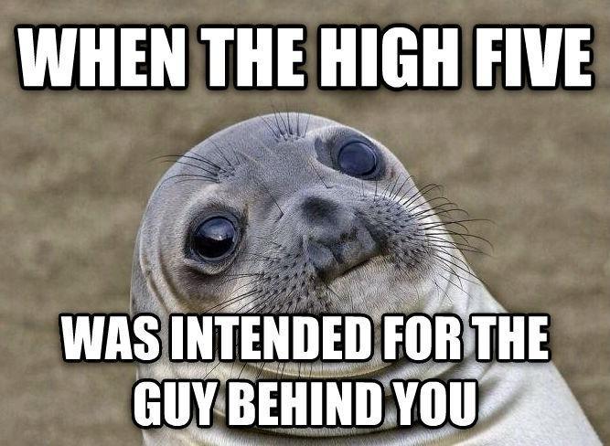 Awkward High Five