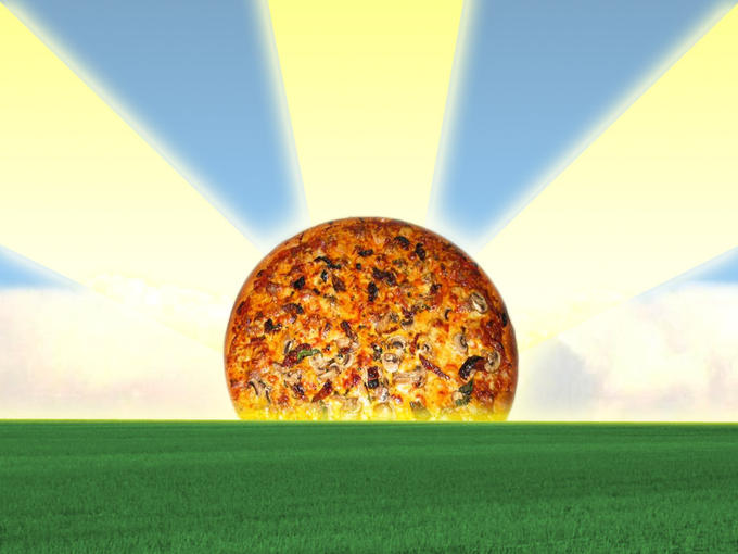 Pizza Sunrise