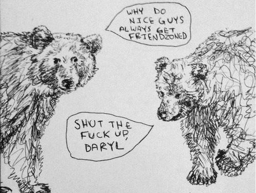 Friendzoned bear