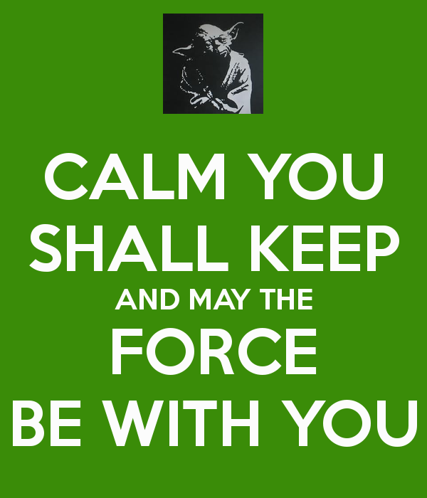 Yoda Speak the Force