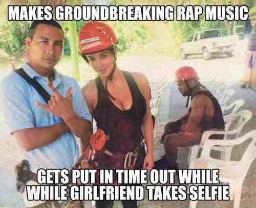 Sad Kanye Selfie