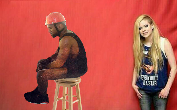 Sad Kanye Avril