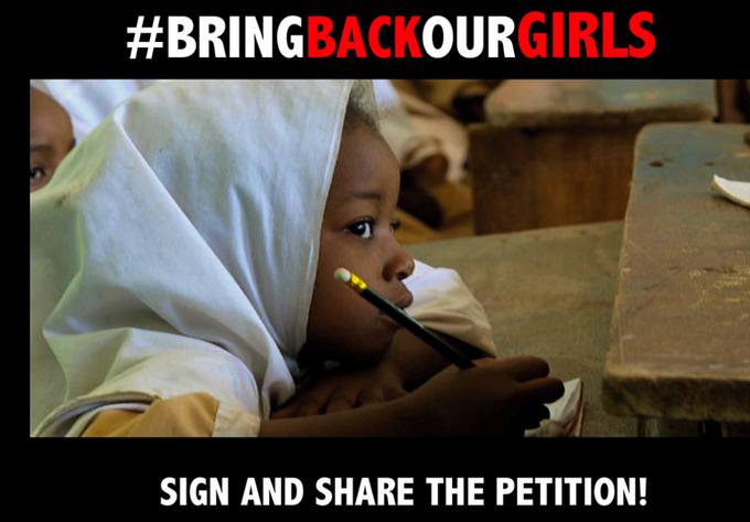 Bring Back Our Girls Tweet