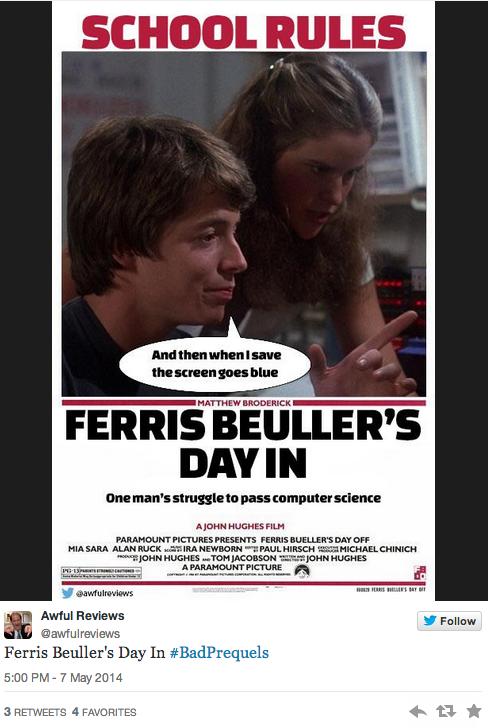 Ferris Bueller's Day In