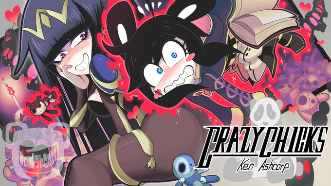 Tharja and Robin with Crazy Chicks