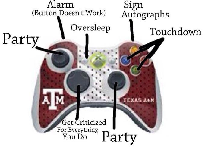 The Johnny Manziel Xbox Controller