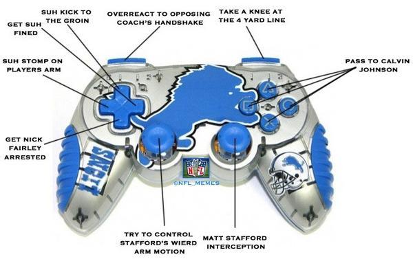 Detroit Lions controller released!