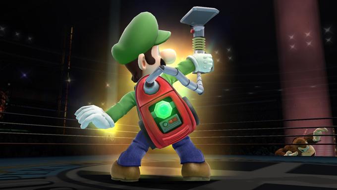 Luigi with Poltergust 5000