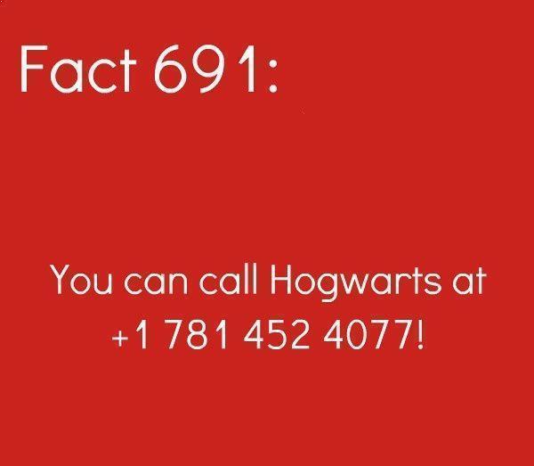 Hogwarts Hotline