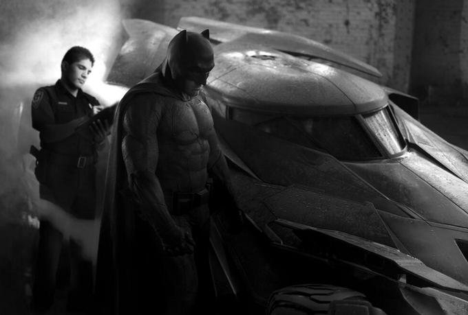 Batman Gets a Ticket