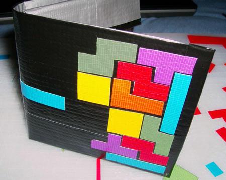 duct tape tetris