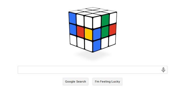 RCube Google Doodle