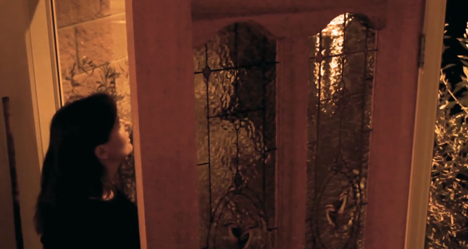 "Slender Man at Door in ""No Privacy In Public"" [2014]"